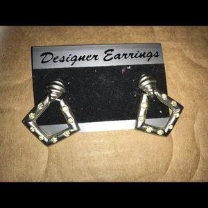 vintage usa made earrings new well made